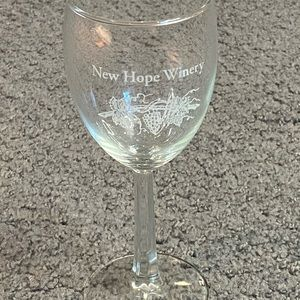 New Hope Winery Small Wine Tasting Glass